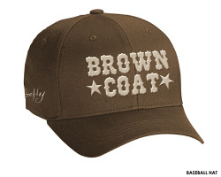 Firefly Baseball Hat- Browncoat Hat