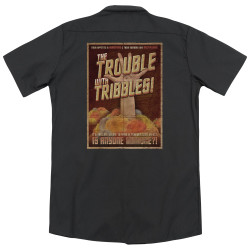 Image for Star Trek Dickies Work Shirt - Tribbles: The Movie