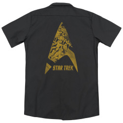 Image for Star Trek Dickies Work Shirt - Delta Crew