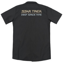 Image for Star Trek Dickies Work Shirt - Deep Space Nine Logo