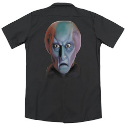Image for Star Trek Dickies Work Shirt - Balok Head