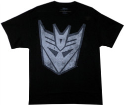 Image Closeup for Transformers Decepticon Logo T-Shirt