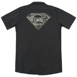 Image for Superman Dickies Work Shirt - All About The Benjamins
