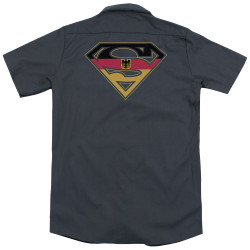 Image for Superman Dickies Work Shirt - German Shield
