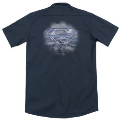 Image for Superman Dickies Work Shirt - Freedom Of Flight