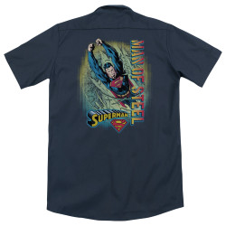 Image for Superman Dickies Work Shirt - Breakthrough