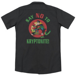 Image for Superman Dickies Work Shirt - Say No To Kryptonite