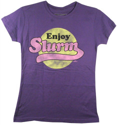 Image for Futurama Girls T-Shirt - Enjoy Slurm