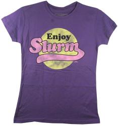 Image for Futurama Girls T-Shirt - Enjoy Slurm