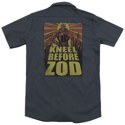 Image for Superman Dickies Work Shirt - Zod Poster