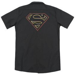 Image for Superman Dickies Work Shirt - Colored Shield