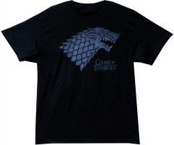 Image Closeup for Game of Thrones Stark Logo T-Shirt