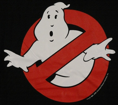 Image for Ghostbusters Ghost Logo T-Shirt