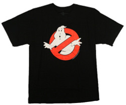 Image Closeup for Ghostbusters Ghost Logo T-Shirt