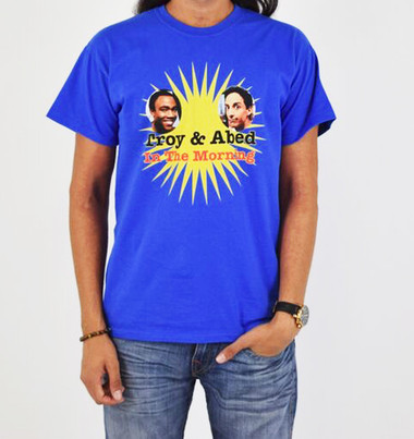 Image for Community Troy & Abed Morning Show T Shirt