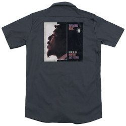 Image for Jazz and Blues Dickies Work Shirt - Thelonious Monk Monterey