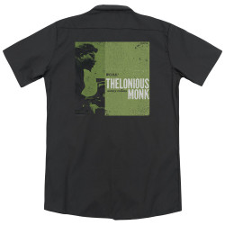 Image for Jazz and Blues Dickies Work Shirt - Thelonious Monk Work
