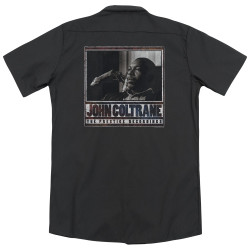 Image for Jazz and Blues Dickies Work Shirt - John Coltrane Prestige Recordings