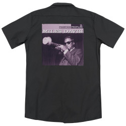 Image for Jazz and Blues Dickies Work Shirt - Miles Davis Prince