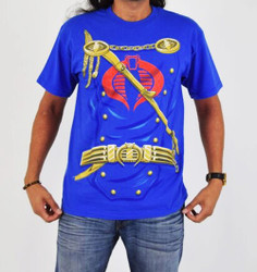 Image for GI Joe Cobra Commander Costume T-Shirt