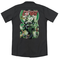 Image for Green Lantern Dickies Work Shirt - Gl Corps #25 Cover