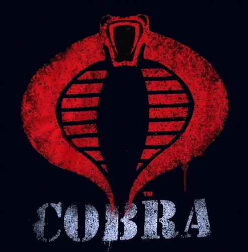 14eb4608 GI Joe Painted Cobra Logo T-Shirt. Loading zoom. Hover over image to zoom