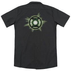 Image for Green Lantern Dickies Work Shirt - Green Glow