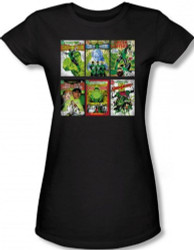 Image for Green Lantern Covers Girls Shirt