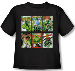 Image for Green Lantern Covers Toddler T-Shirt
