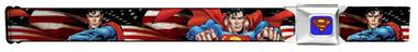 Image for Superman Seatbelt Buckle Belt - Poses