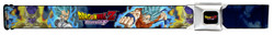 Image for Dragon Ball Z Seatbelt Buckle Belt - Super Saiyan