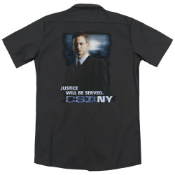 Image for CSI:NY Dickies Work Shirt - Justice Served