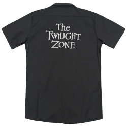 Image detail for Twilight Zone Dickies Work Shirt - Logo