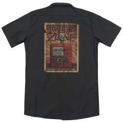 Image detail for Twilight Zone Dickies Work Shirt - Seer