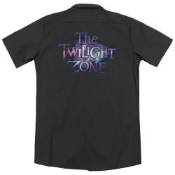 Image detail for Twilight Zone Dickies Work Shirt - Twilight Galaxy