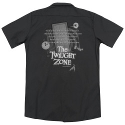 Image for Twilight Zone Dickies Work Shirt - Monologue