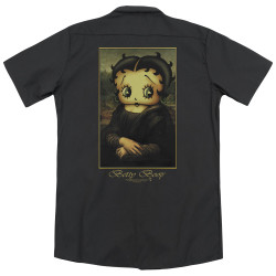 Image for Betty Boop Dickies Work Shirt - Betty Boopalisa