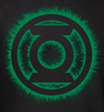 Image for Green Lantern Green Flame Logo T-Shirt