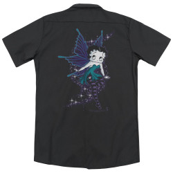 Image for Betty Boop Dickies Work Shirt - Sparkle Fairy