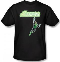 Image Closeup for Green Lantern Energy Construct Logo T-Shirt