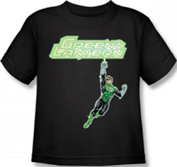 Image for Green Lantern Energy Construct Logo Kid's T-Shirt