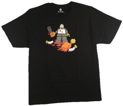 Image For Funny T-Shirt - Lego Leatherface