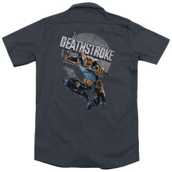 Image for Justice League Of America Dickies Work Shirt - Deathstroke Retro