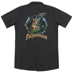 Image for Justice League Of America Dickies Work Shirt - Ruler Of The Seas