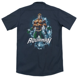 Image for Justice League Of America Dickies Work Shirt - Water Powers