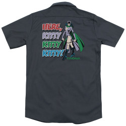 Image for DC Comics Dickies Work Shirt - Here Kitty