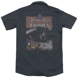 Image for DC Comics Dickies Work Shirt - Detective #27 Distressed