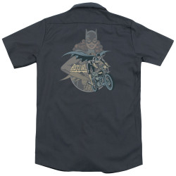 Image for DC Comics Dickies Work Shirt - Batgirl Biker