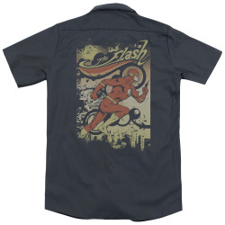 Image for DC Comics Dickies Work Shirt - Just Passing Through