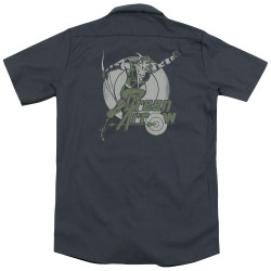 Image for DC Comics Dickies Work Shirt - Right On Target